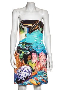 MARY KATRANTZOU short dress Multicolor on Tradesy