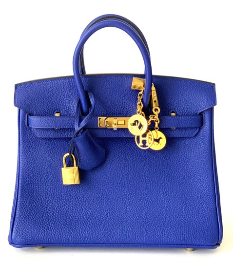 Hermès Birkin Blueatoll Handbag Tote in Blue Electric Image 1