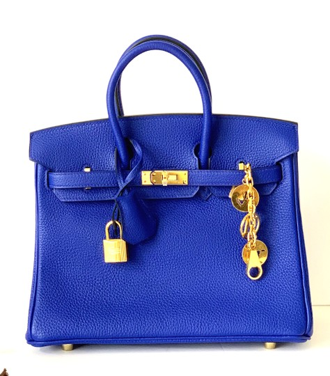 Hermès Birkin Blueatoll Handbag Tote in Blue Electric Image 2
