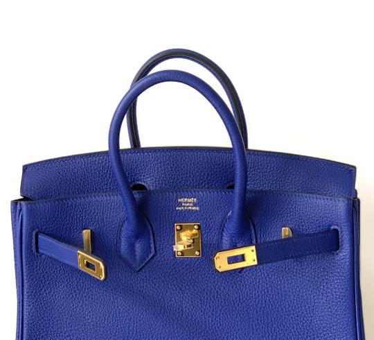 Hermès Birkin Blueatoll Handbag Tote in Blue Electric Image 3