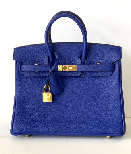 Hermès Birkin Blueatoll Handbag Tote in Blue Electric Image 6