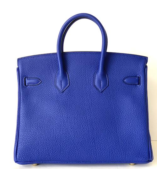 Hermès Birkin Blueatoll Handbag Tote in Blue Electric Image 7