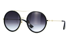 Gucci Rounded Gucci Style GG 0061S 001 - FREE 3 DAY SHIPPING Rounded