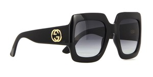 Gucci Gucci Large Squar Style GG 0053S 001 - FREE 3 DAY SHIPPING Large Thick