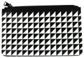Proenza Schouler Black/White triangle pattern Clutch Image 0