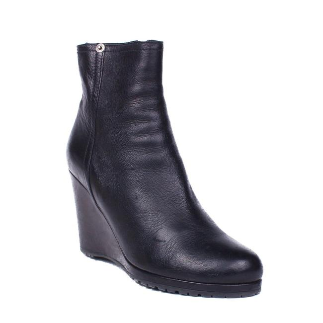 Item - Black Ankle Wedge Boots/Booties Size US 10 Narrow (Aa, N)