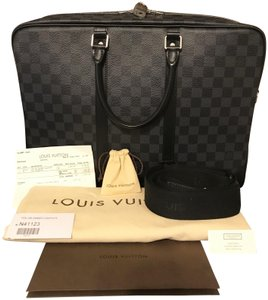 Louis Vuitton Laptop Gift His Hers Damier Graphite Travel Bag