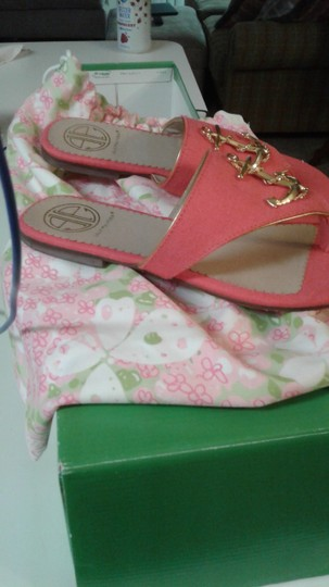 Lilly Pulitzer Pink Sandals Image 1