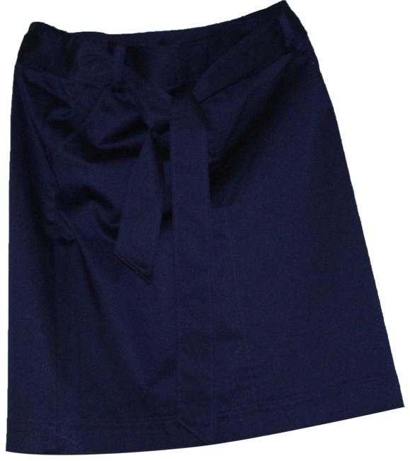 Preload https://img-static.tradesy.com/item/24492510/lafayette-148-new-york-blue-navy-cotton-blend-belted-a-line-skirt-size-8-m-29-30-0-1-650-650.jpg