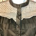 Beulah Blouse Button Down Shirt Black Image 1