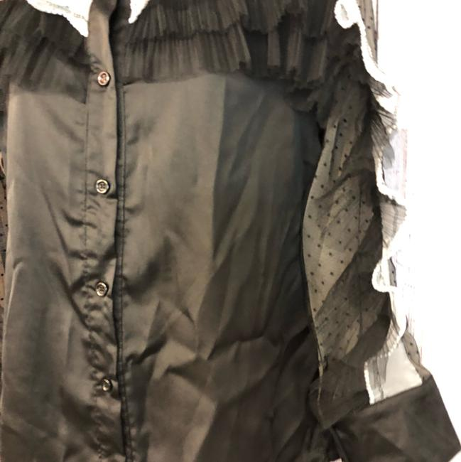 Beulah Blouse Button Down Shirt Black Image 3