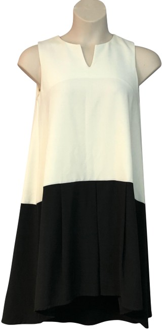 Preload https://img-static.tradesy.com/item/24492579/cremeblack-made-in-italy-color-poly-blend-shift-mid-length-short-casual-dress-size-8-m-0-1-650-650.jpg
