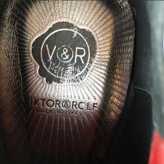 VIKTOR & ROLF Black and Red Mules Image 5