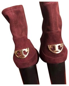 Tory Burch PORT/BURGUNDY Boots