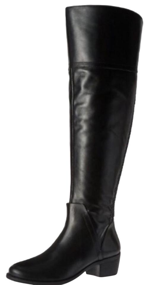 27fd84fb872 Vince Camuto Black Bendra Over The Knee Boots Booties Size US 6 ...