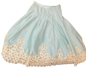 Soft Surroundings Skirt mint