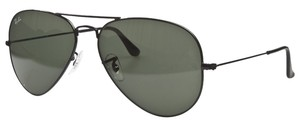 Ray-Ban Ray Ban Aviator RB3025 Sunglasses L2823 Black With G15 Green Lens
