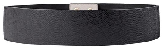 White House | Black Market WHBM leather micro embossed stretch belt size M Image 0