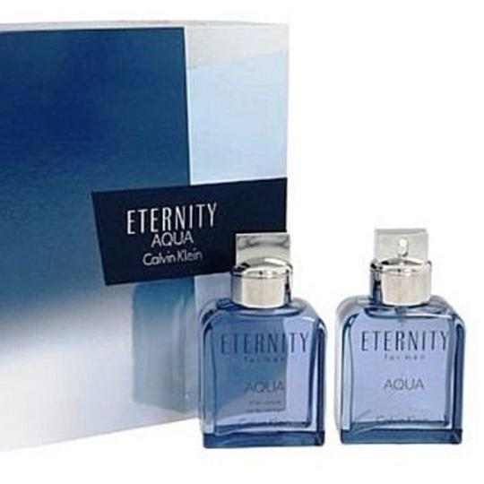 Calvin Klein Calvin Klein Eternity Aqua 2pc Perfume Set for Men Image 2
