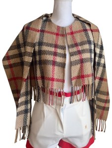 Burberry nwot Burberry vintage cape with attached scarf