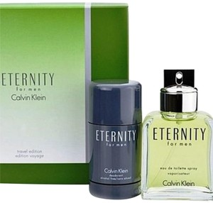 Calvin Klein Calvin Klein Eternity 2pc Travel Perfume Set for Men