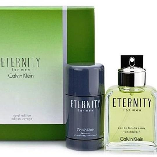 Calvin Klein Calvin Klein Eternity 2pc Travel Perfume Set for Men Image 1