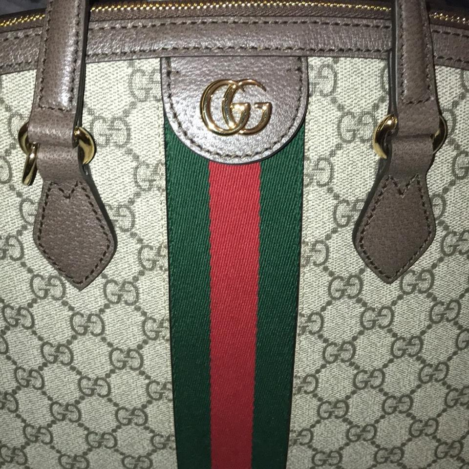 d01513660042 Gucci Box Ophidia Gg Supreme Come with Dust No Brown Canvas Shoulder ...