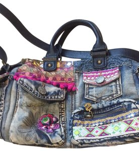 Desigual Satchel in blue