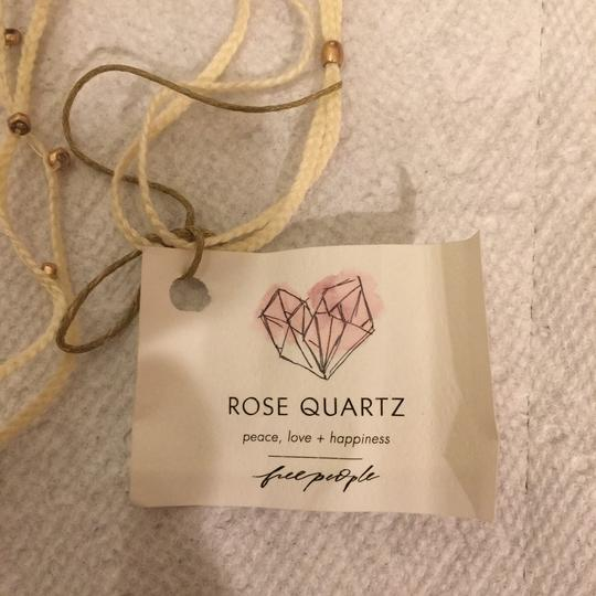 Free People free people Rose Quartz pieces-love-happiness Necklace Image 2