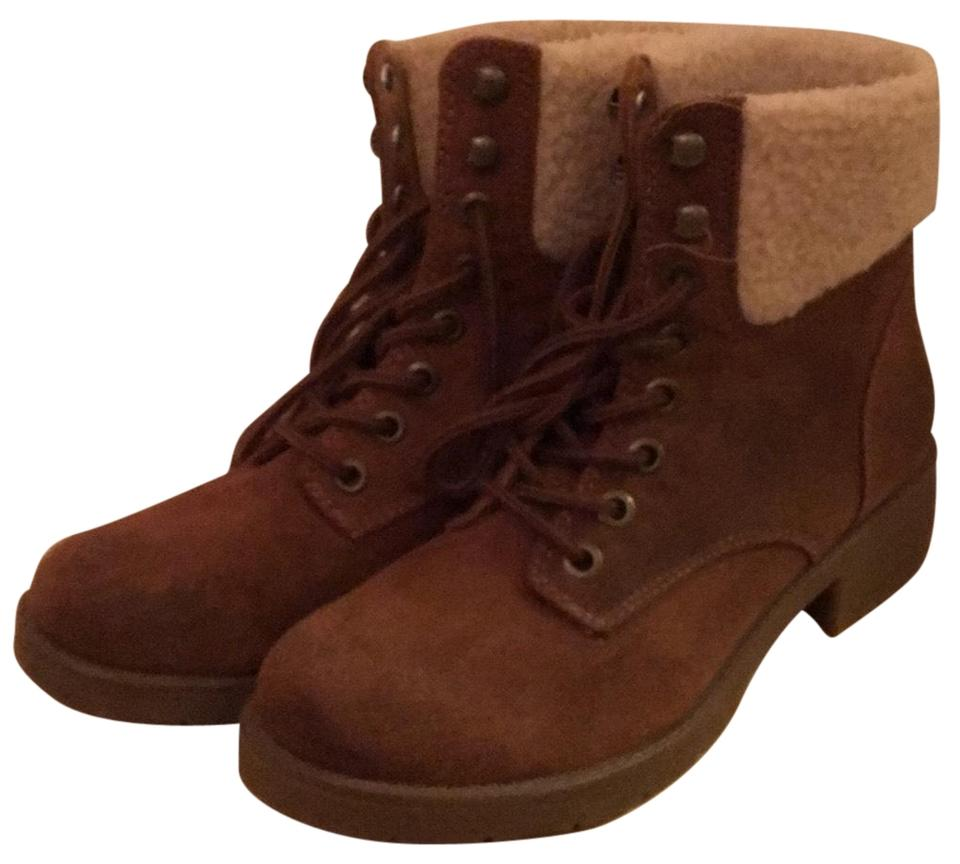 51a4986fad45 Mossimo Supply Co. Brown 096091744 Boots Booties. Size  US 9 Regular (M ...