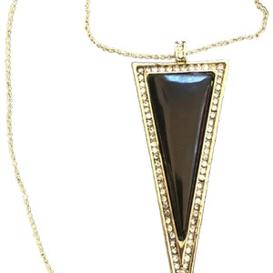 House of Harlow 1960 Long Triangle Crystals