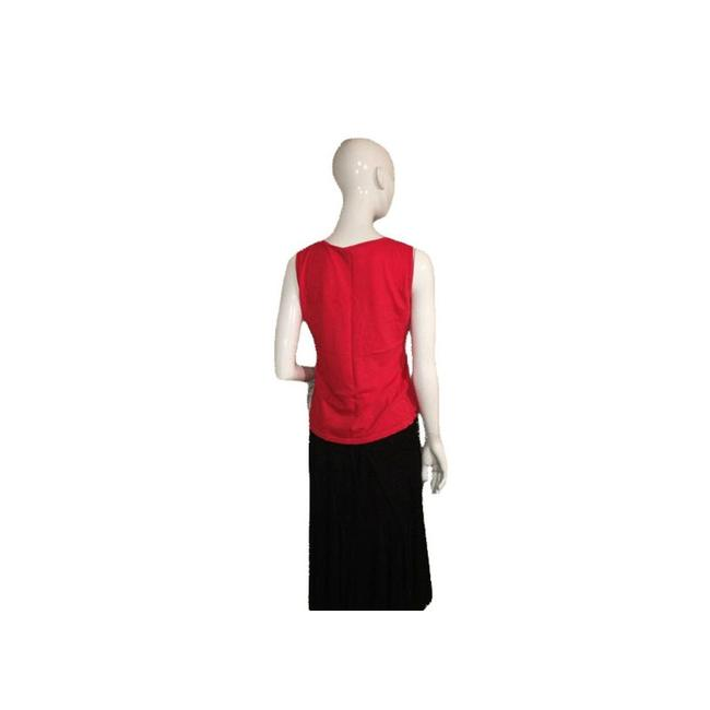 Talbots Top Red Image 2