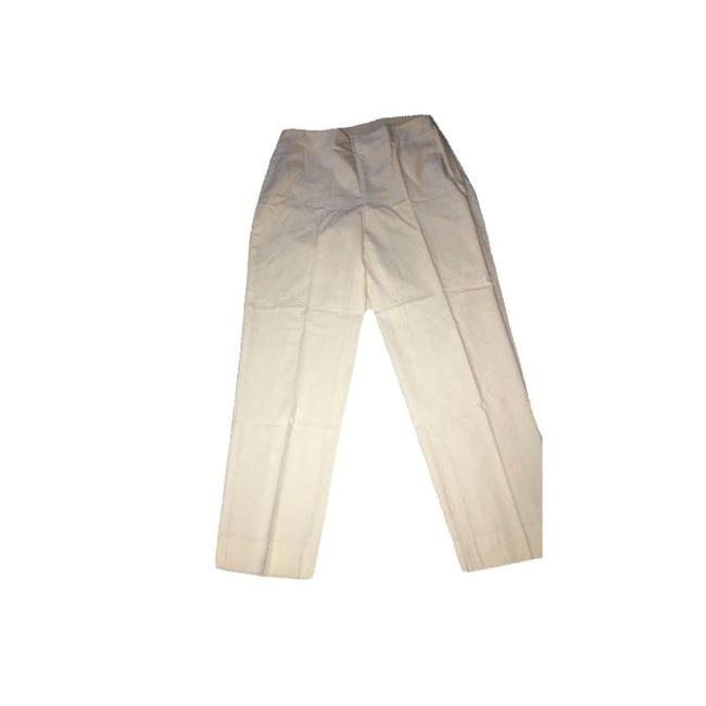 Talbots Relaxed Pants White Image 2