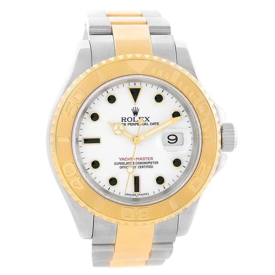 Rolex Rolex Yachtmaster 40 Steel Yellow Gold Steel Watch 16623 Box Papers Image 1