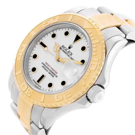 Rolex Rolex Yachtmaster 40 Steel Yellow Gold Steel Watch 16623 Box Papers Image 3
