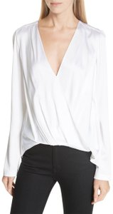 A.L.C. Silk Top White