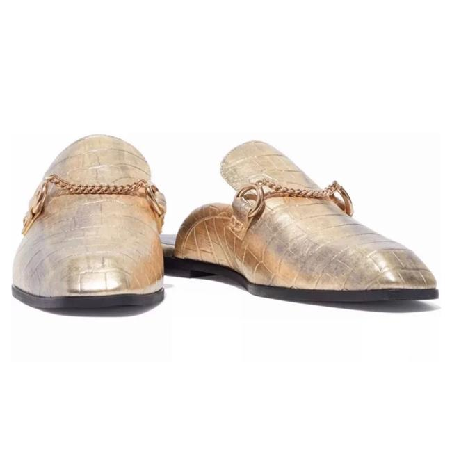 Item - Gold Slides Flats Size EU 35 (Approx. US 5) Regular (M, B)