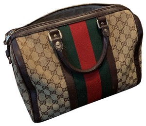 Gucci Satchel in canvas