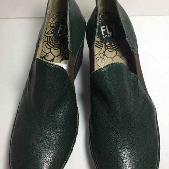 FLY London Uk Chelsea Moss Green Boots Image 1