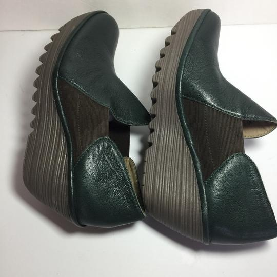 FLY London Uk Chelsea Moss Green Boots Image 2