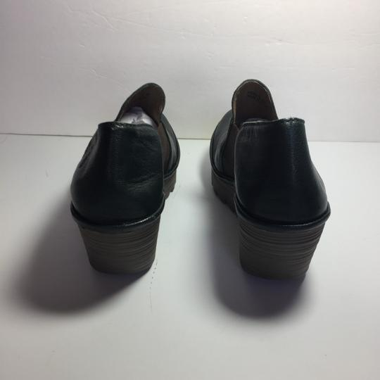 FLY London Uk Chelsea Moss Green Boots Image 3