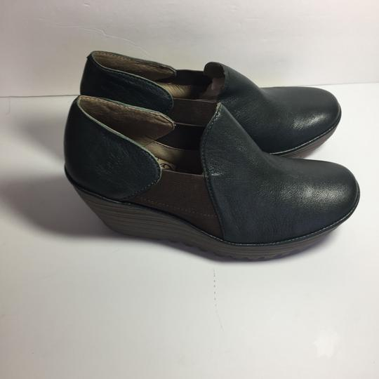 FLY London Uk Chelsea Moss Green Boots Image 4