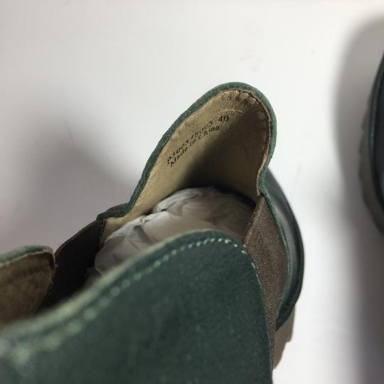 FLY London Uk Chelsea Moss Green Boots Image 5