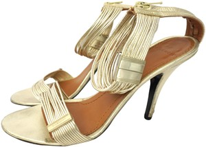 Givenchy Strappy Heels Gold Sandals