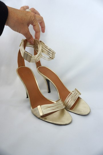 Givenchy Strappy Heels Gold Sandals Image 1