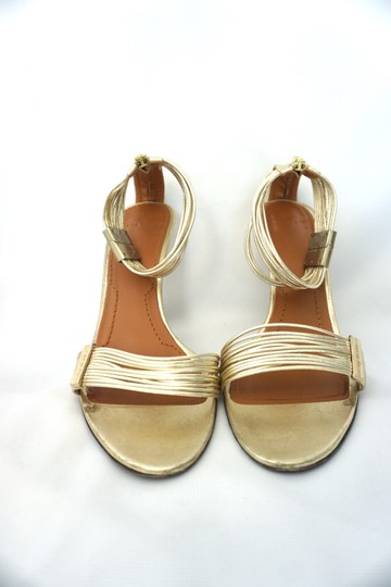 Givenchy Strappy Heels Gold Sandals Image 5