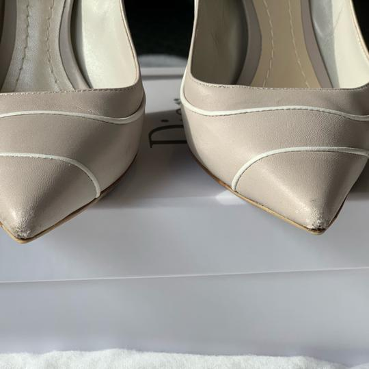 Christian Dior Signature Heel Pump pearl/white Pumps Image 4