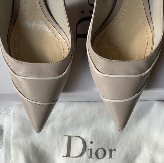 Christian Dior Signature Heel Pump pearl/white Pumps Image 5