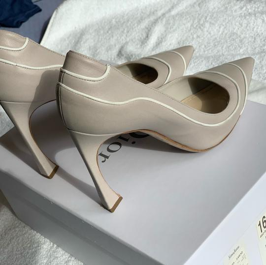 Christian Dior Signature Heel Pump pearl/white Pumps Image 6