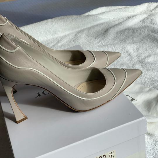 Christian Dior Signature Heel Pump pearl/white Pumps Image 7